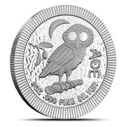 Ateńska Sowa 2020 - 1 uncja - srebrna moneta bulionowa