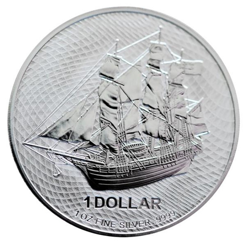 1-uncjowa moneta o nominale 1$ COOK ISLANDS wydana na Wyspach Cooka w 2020 roku. Monety w stanie menniczym.