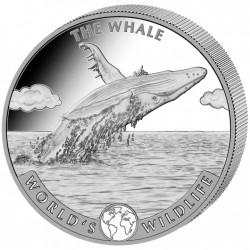 World's Wildlife: Wieloryb 2020 - 1 uncja - srebrna moneta bulionowa