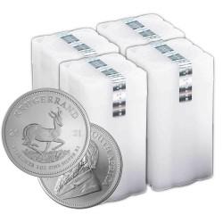 100 uncji srebra Krugerrand 2021 - 4 tuby