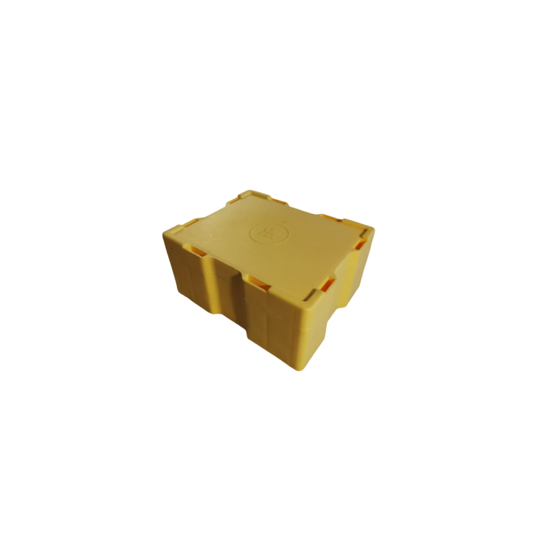 Oryginalny pusty Masterbox The Royal Canadian Mint, pomieści 20 tub typu Maple Leaf