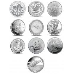 1 uncja srebra - rynek wtórny