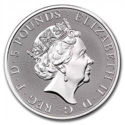 2-uncjowa moneta Completer Coin wydana w Wielkiej Brytanii w 2021 roku. Monety w stanie menniczym.
