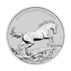 Brumby 2021 - 1 uncja -srebrna moneta bulionowa